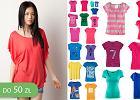T-shirty w intensywnych kolorach do 50 z� - ponad 40 propozycji!