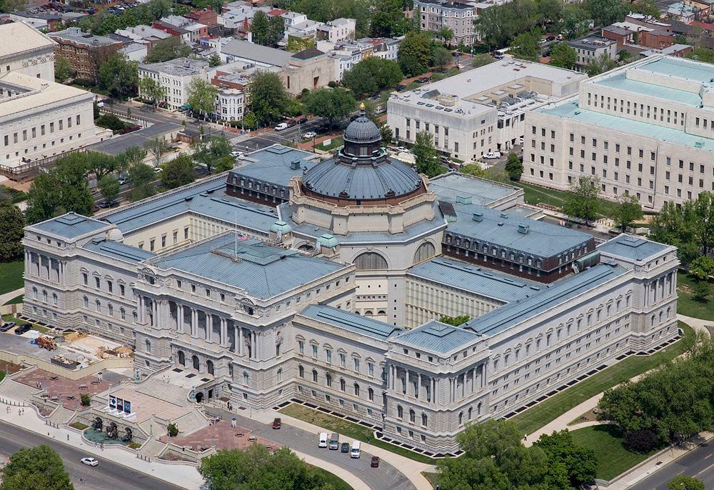 Thomas Jefferson Building, część Library of Congress / Fot. Carol M. Highsmith, Wikimedia CC BY-SA 3.0.