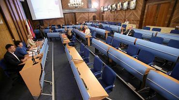 Sala sesyjna rady Szczecina