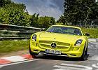 Mercedes SLS Electric Drive - elektryczny rekord