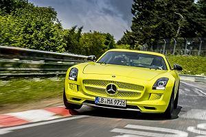Mercedes buduje rywala Tesli | Zasi�g 400 - 500 km
