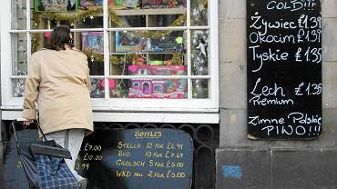Polski sklep w Edynburhu