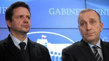 Rafał Trzaskowski i Grzegorz Schetyna