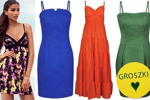 Sukienki na rami�czkach spaghetti - ponad 90 propozycji!