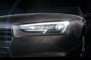 LED-owe �wiat�a Matrix w nowym Audi A4