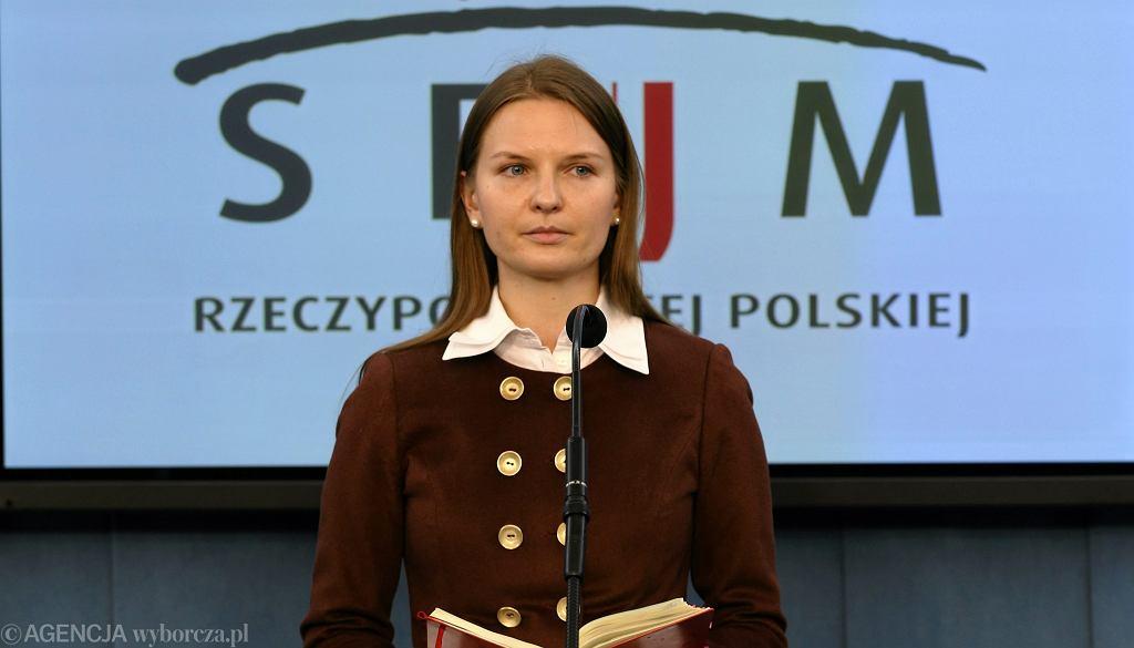 Prezes fundacji Otwarty Dialog Ludmiła Kozłowska