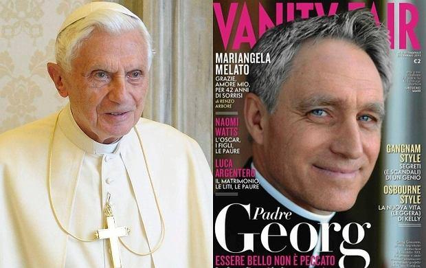 """Benedykt XVI dostanie niezłą emeryturę. A towarzyszyć mu będzie """"sexy biskup"""""""