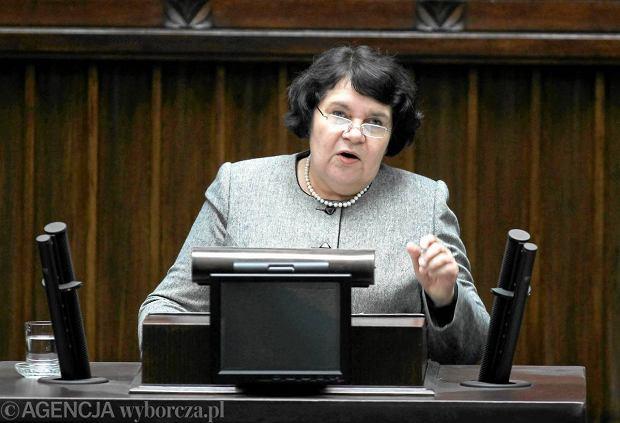 Najwi�cej interpelacji z�o�y�a w tej kadencji Anna Sobecka z PiS