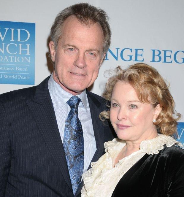 Stephen Collins z żoną Faye Grant