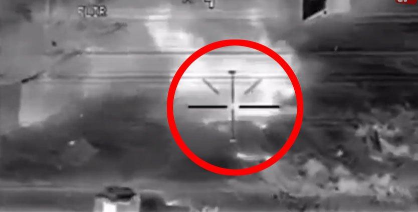 Atak drona