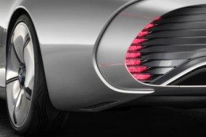 Salon Frankfurt 2015   Mercedes-Benz Concept IAA   Niesamowita aerodynamika