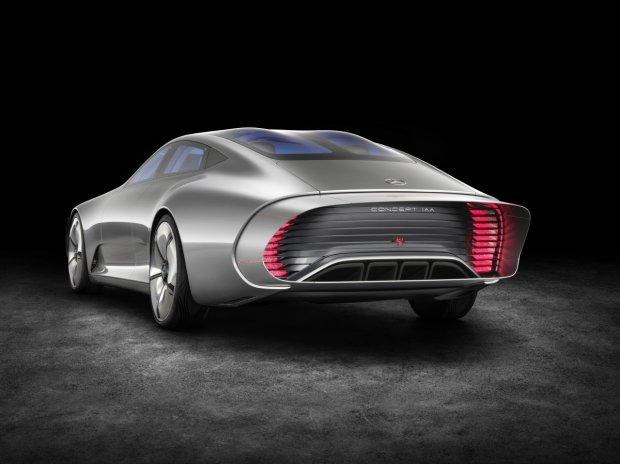 Salon Frankfurt 2015 | Mercedes-Benz Concept IAA | Niesamowita aerodynamika