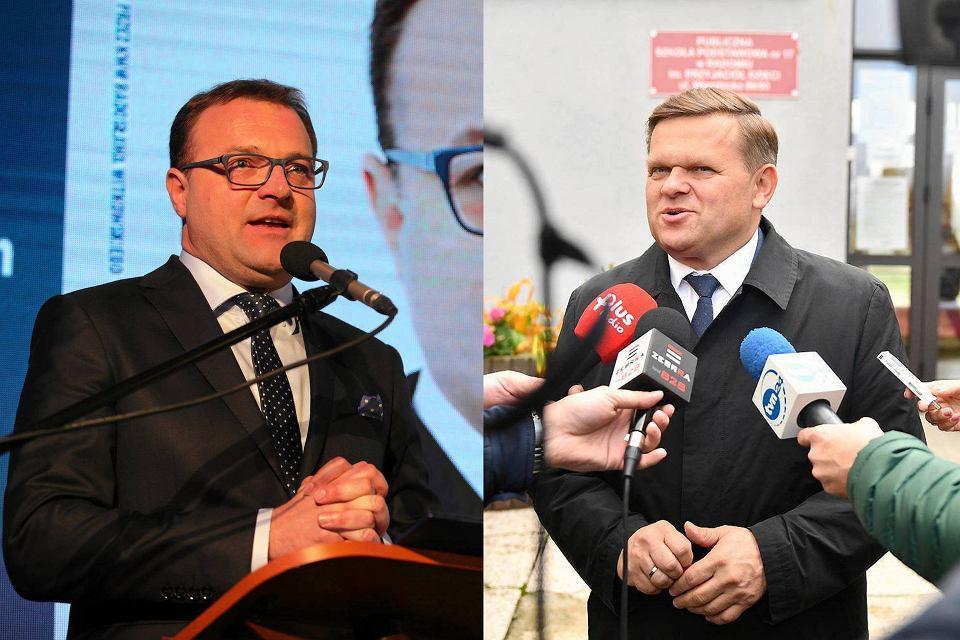 Wybory samorządowe 2018 w Radomiu. Radosław Witkowski i Wojciech Skurkiewicz o fotel prezydenta Radomia powalczą w drugiej turze