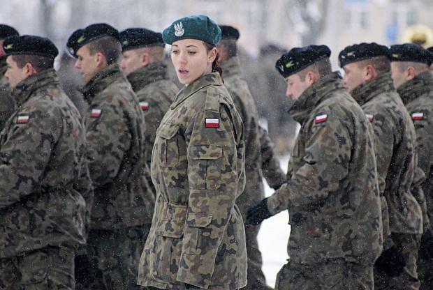 Powitanie zmiany polskiego kontyngentu w Kosowie, Zielona Góra