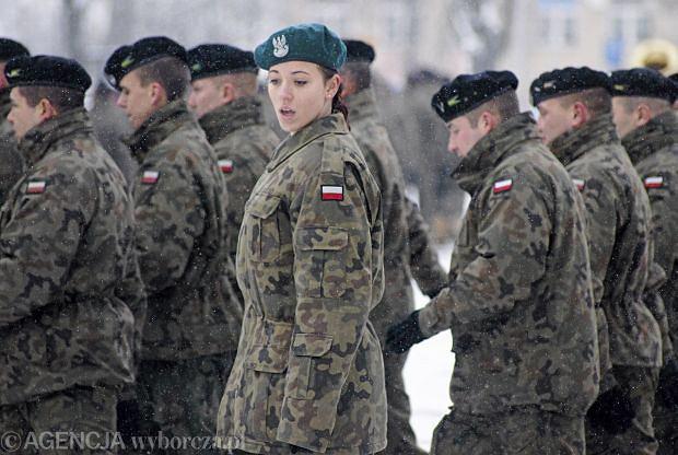 Powitanie zmiany polskiego kontyngentu w Kosowie, Zielona G�ra