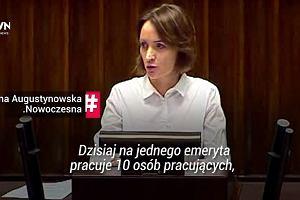 Sejm dyskutuje o obniżeniu wieku emerytalnego: 'To jest poniżające!'