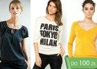 Zakupy w sieci: bluzki, swetry i bluzy do jesiennych stylizacji z La Redoute.pl [do 100 z�]
