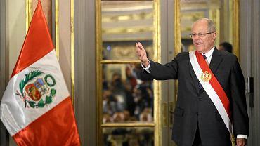 Urzędujący prezydent Peru Pedro Pablo Kuczynski.