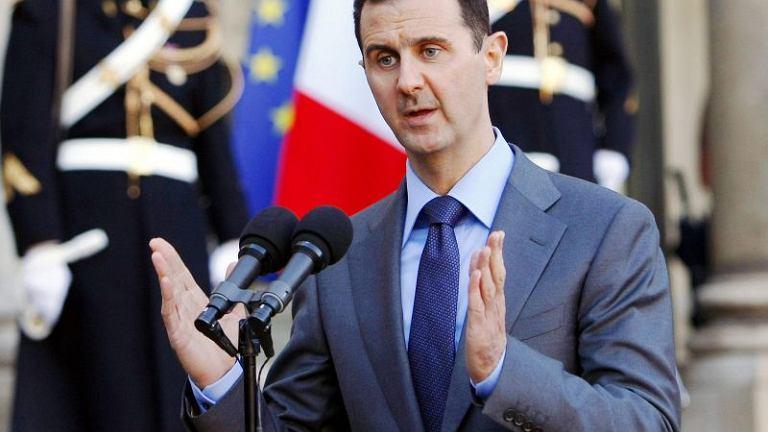 Prezydent Syrii Baszar el-Asad