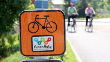 oznakowanie trasy Green Velo