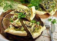 Pizza z tofu i grzybami shitake - ugotuj