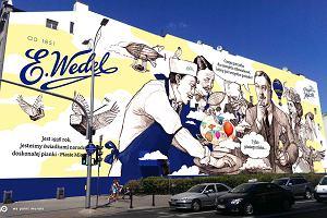 Praga-Północ. Mural z Wedlem niezgodny z prawem. Nie ma zgody konserwatora