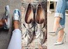 Metaliczne buty - efektowny akcent na ka�d� okazj�