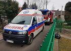 Przerwana rozmowa z numerem 112, strażacy wdarli się do domu i uratowali starszą kobietę