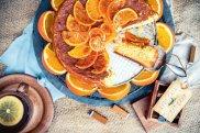 Ciasto pomara�czowo-migda�owe
