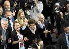 PiS po debacie wyborczej zrobi� konferencj� prasow� w siedzibie TVP. Zastawiaj�c drog� przeciwpo�arow�