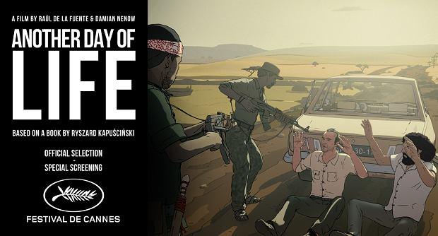 """W Cannes zostanie pokazany """"Jeszcze dzień życia"""" na podstawie książki Ryszarda Kapuścińskiego"""