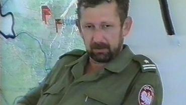 Major Wiesław Słoniewski, dowódca z Siem Reap, później instruktor GROM