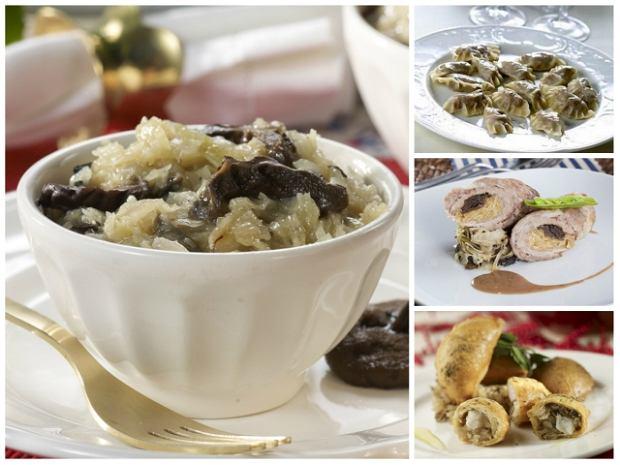 Kiszona kapusta i grzyby - klasyka nie tylko od �wi�ta