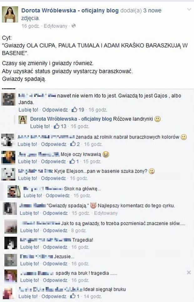 Komentarze do sesji Adama Kraśko