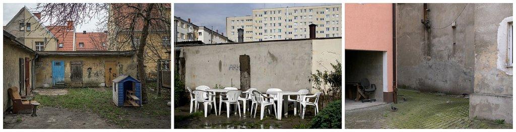 Polskie podwórka: Elbląg - Gdynia - Kielce (fot. Filip Springer)