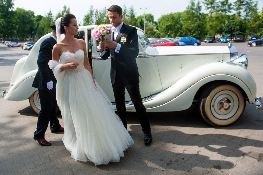 Był Rolls Royce I Białe Gołębie Bramkarz łukasz Fabiański I Anna