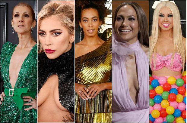 Gwiazdy na Grammys 2017 - wpadki
