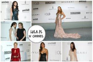 Cannes 2014: Jessica Chastain, Marion Cotillard, Kylie Minogue, Conchita Wurst (!), Aishwarya Rai i inne gwiazdy na gali amfAR