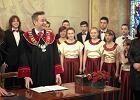 Telewizor z kana�ami porno w gabinecie prezydenta S�upska