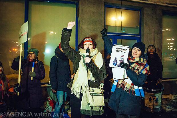 Strajk przeciw reformie edukacji. Nie chcemy miliona królików
