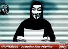 """Anonymous uruchamiaj� """"Operacj� Nicea"""". I ostrzegaj�: Zrobimy wszystko, co jest konieczne"""