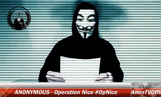 """Anonymous uruchamiają """"Operację Nicea"""". I ostrzegają: Zrobimy wszystko, co jest konieczne"""