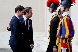Papież Franciszek przyjął w Watykanie premiera Luksemburga wraz z mężem
