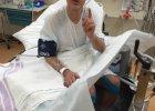 Micha� Kie�basi�ski wycofa� si� z najtrudniejszego biegu na �wiecie. Z odmro�eniami trafi� do szpitala