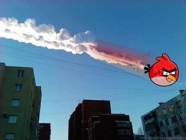 Meteoryt uderza w internet [ZDJĘCIA]