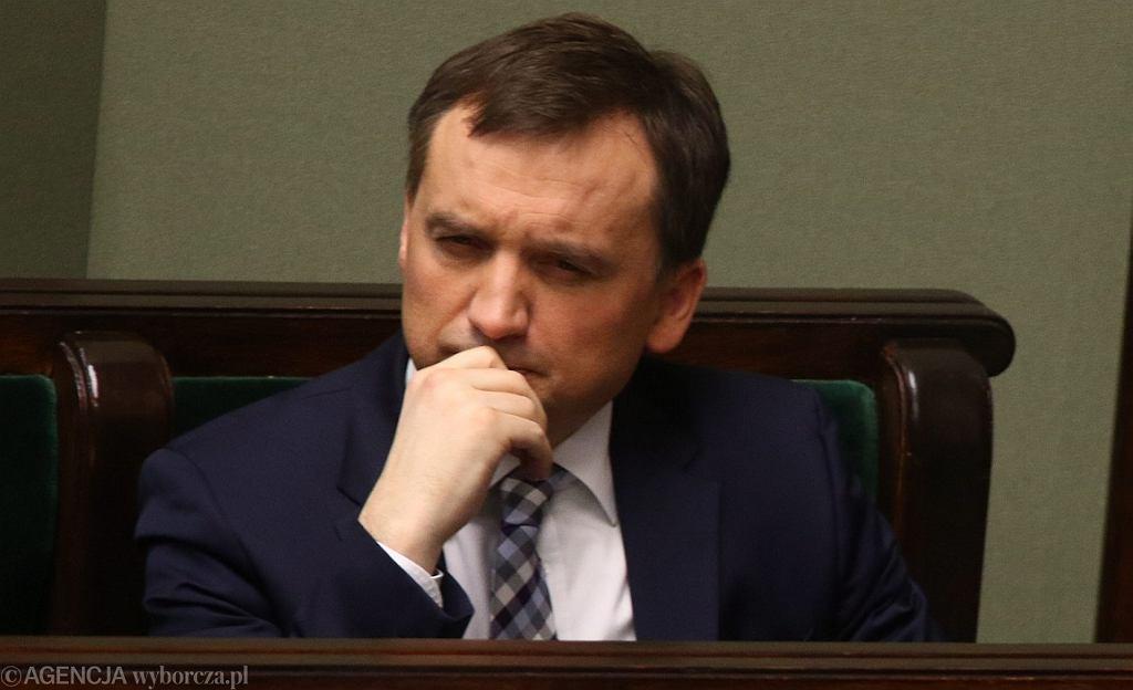Minister sprawiedliwości Zbigniew Ziobro (fot. Sławomir Kamiński/AG)