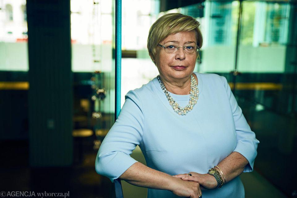 Małgorzata Gersdorf, I Prezes Sądu Najwyższego.