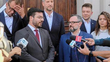 Przemysław Hinc (po prawej)