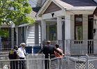 Tak wygl�da dom w Cleveland, w kt�rym porywacz przez dziesi�� lat wi�zi� trzy kobiety