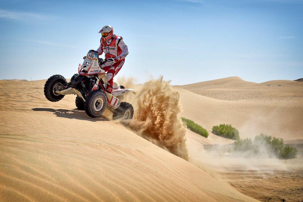 Rafał Sonik rajd Abu Dhabi